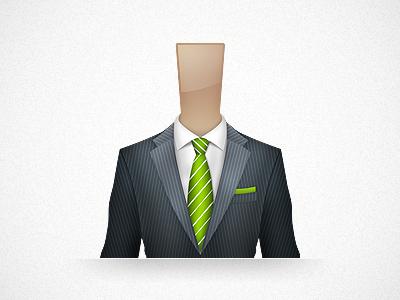 Business Man business man icon suit green men