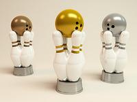 3 Bowling Awards