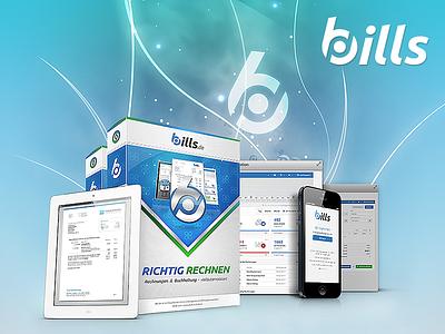 bills Presentation graphicdesign mockup invoice marktagenten bills