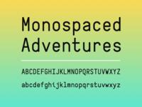 Salad Mono Typeface