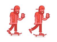 Skate sketch