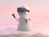 VR Snowman