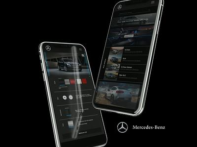 Mercedes Benz app design concept mercedes benz mercedes application design uxui ux ux design app design app design user experience user design ui design uiux ui