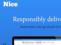 NiceUX Homepage