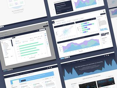 Data Catalog and Visualizer data visualization dataviz data governance data catalog data visualizer chart dashboard application indianapolis ui ux