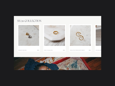 Layout N°011 interaction typography motion animation ui minimal art direction website webdesign design