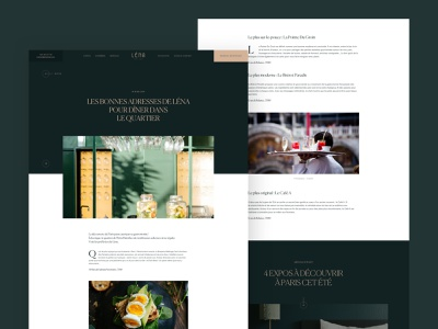 Article Page grid layout uiux art direction ui website webdesign design