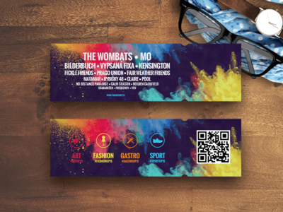 FingersUp - tickets lineup tickets wood sport gastro fashion art music festival colors pkart czech