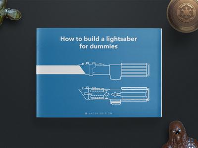 How to build a lightsaber vader czech lightsaber blueprint starwars project school