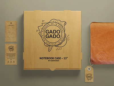 GadoGado sun illustration gadogado case prague bali wind package logo