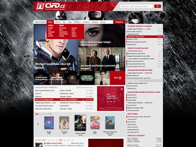 CSFD.cz czech pkart csfd movie red freetime redesign