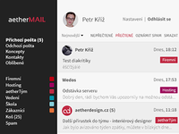 Aethermail - main page
