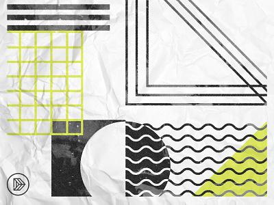 Dagger Poster minimal shapes geometric graphic design texture illustrator design illustration
