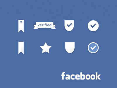 Facebook Verified Icons