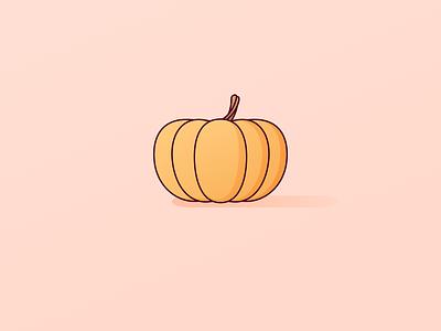 Pumpkin pumpkins drawing illustration stem halloween winter squash vectober sketchapp vector fall autumn citrouille pumpkin