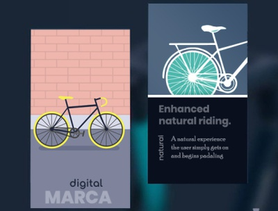 Cycle: Branding flat vector app web @illustrator @photoshop design @branding @brand