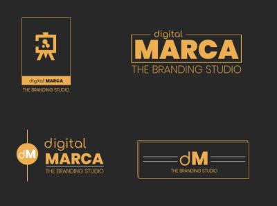 MARCA: Branding Options illustration @photoshop flat @brand @illustrator logo vector branding design @branding
