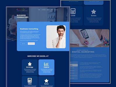 DADJ: Business Consulting @branding @brand digital marketing consulting typography ux ui @photoshop design website desktop web logo