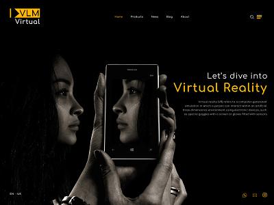 Virtual Reality icon @brand phone typography about trend latest design web adobe xd logo ai tv reality virtual