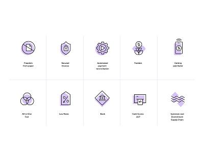 Crowdz Brand Icons brand identity brand design iconography icon design icons pack iconset icons