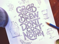 Grab a Brew Sketch