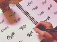 Christo Knives Logotype Sketches