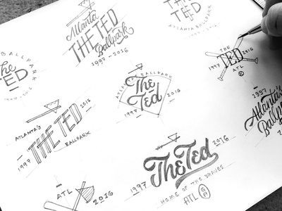 The Ted Concept Sketches