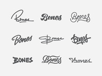 Bones Logotype Thumbs