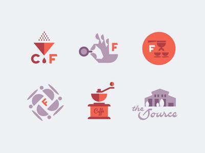 Caffe Figurati brand badges