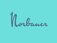 Norbauer Logotype
