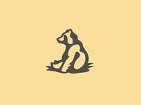 Happy Bear Logo Mark