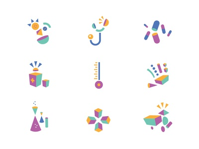 Funktional Play Icons