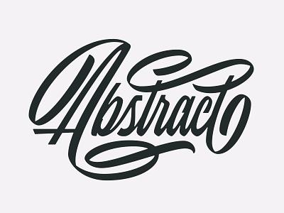 Abstract Script brush lettering brush pen flourish ligature handlettering lettering type script abstract
