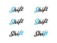 Shift Logotype Variations