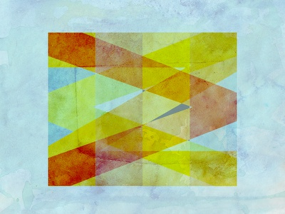 Paint abstract geometry texture flat colors shapes