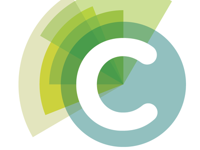 Logo option logo letter transparency colorful geometric shapes