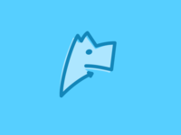 Unused Dog Icon Concept