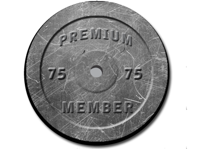 1 of 4 Membership Icons in Progress.  barbell fitness membership package fitpro.co