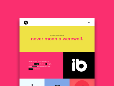 New Website design web