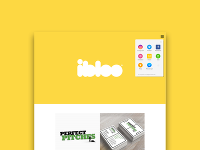 Minimal web design website web minimal brand yellow