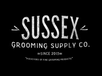 Sussex Grooming Supply with tagline