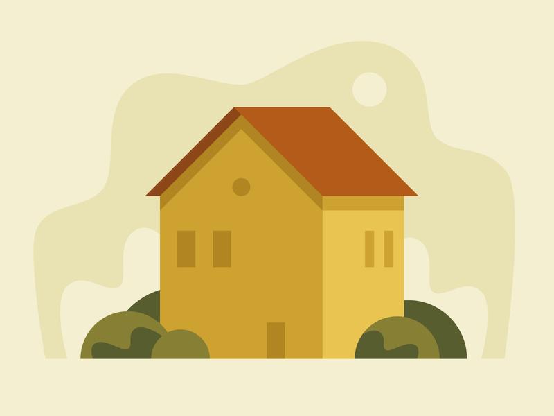 House building house pastel geometric vector illustrator illustration