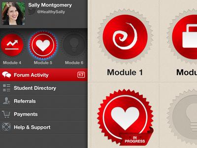 Nutrition App Interface