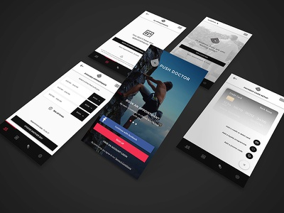 Push Doctor Redesign ui ux app design redesign