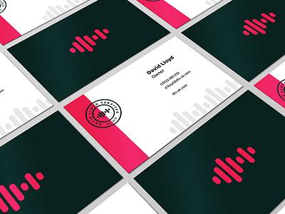 DLS UK Branding identity business card branding