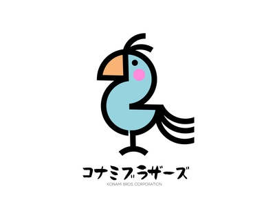 Konami Bros Corporation Logo