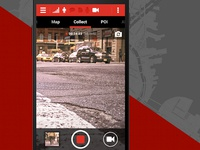 Surveillance App UI