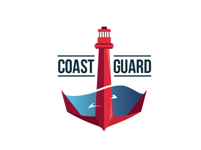 2nd round of US Coast Guard logo redesign
