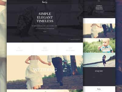 Heather Lynn Live icon wedding engagement web design