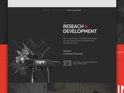 Content Sneak parallax content research featured design web ui points